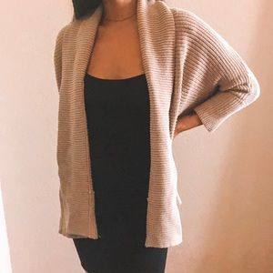 Forever 21 Sweater Knit Open Cardigan